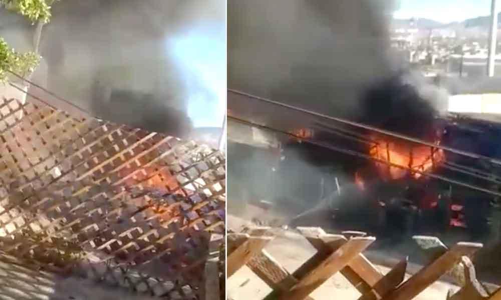 Mueren dos jóvenes tras incendiarse vivienda en Tijuana