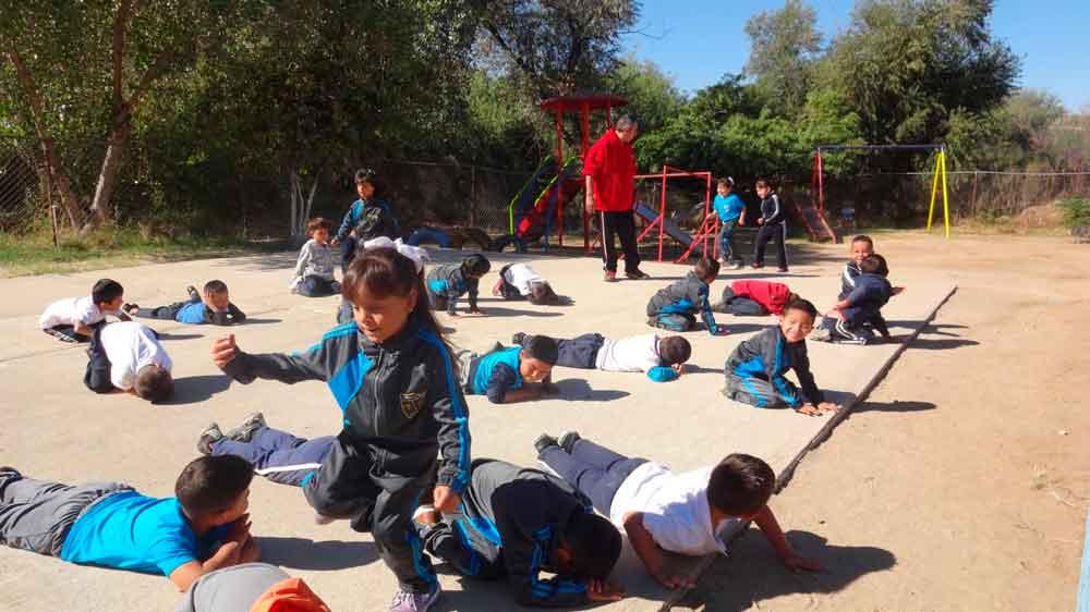 Imdete lleva jornada de activación física a escuelas