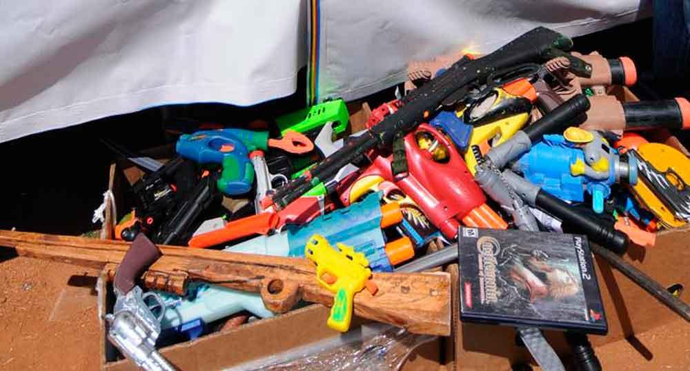 Juguetes bélicos estimulan comportamiento violento: SSPE