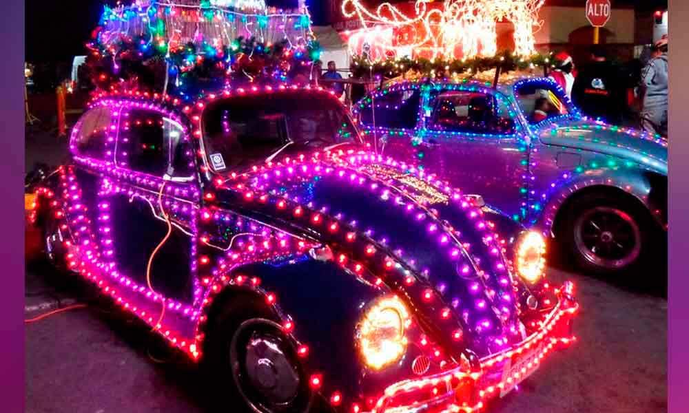 Mañana será el Tradicional Desfile de las Luces en Tecate
