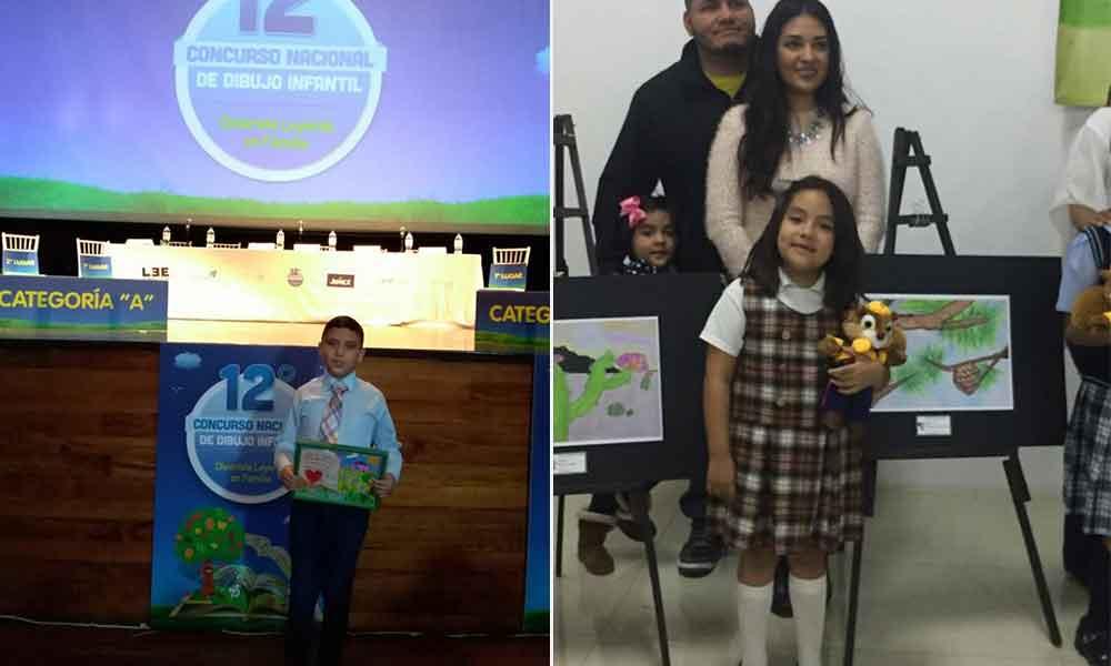 Estudiantes de Tecate ganan concurso de dibujo