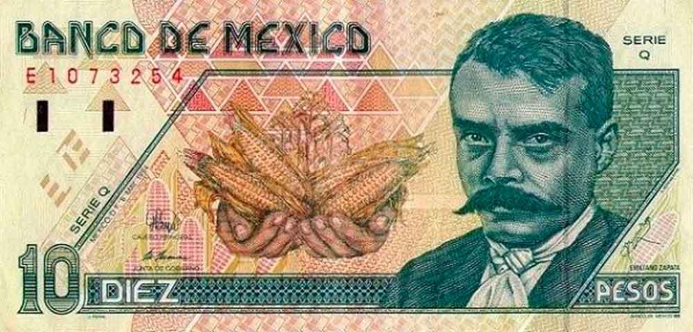 Los billetes de $10 pesos siguen teniendo su valor