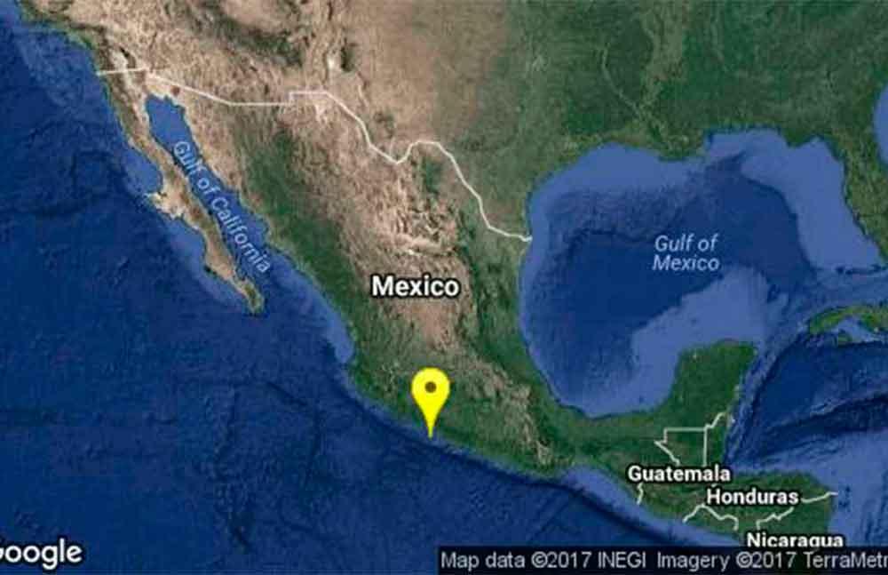 Reportan Sismo de 5.0 grados en Guerrero