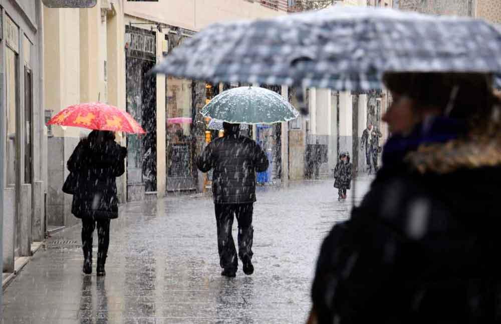 Fin de semana helado, caerá nieve y fuertes lluvias en varios estados