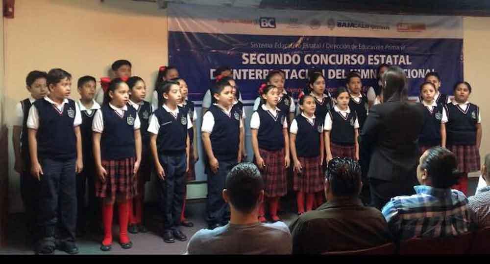 Coro Colegio Fernando Montes de Oca obtiene primer Lugar estatal