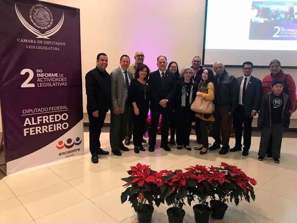 Presenta Diputado Alfredo Ferreiro su segundo Informe de actividades legislativas