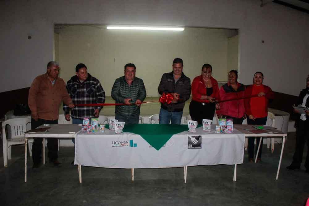 Inauguran lechería Liconsa en el Valle de las Palmas