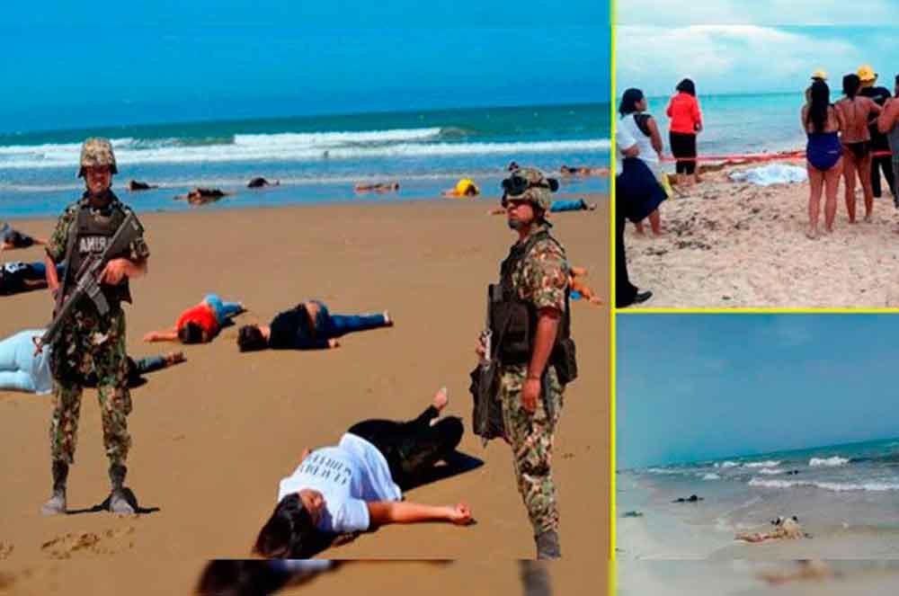Difunden noticia falsa sobre el hallazgo de 50 cuerpos sin vida en costas de Cancún