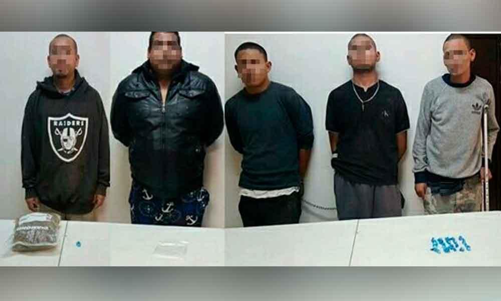 Realizan cateos contra el narcomenudeo en Tijuana; cinco detenidos