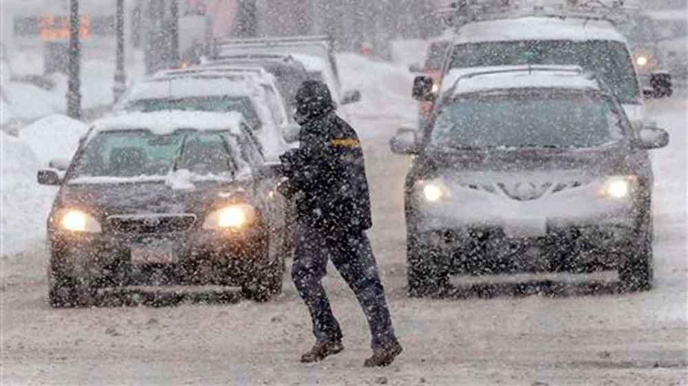 Alerta de nevadas en 5 estados por primera tormenta invernal