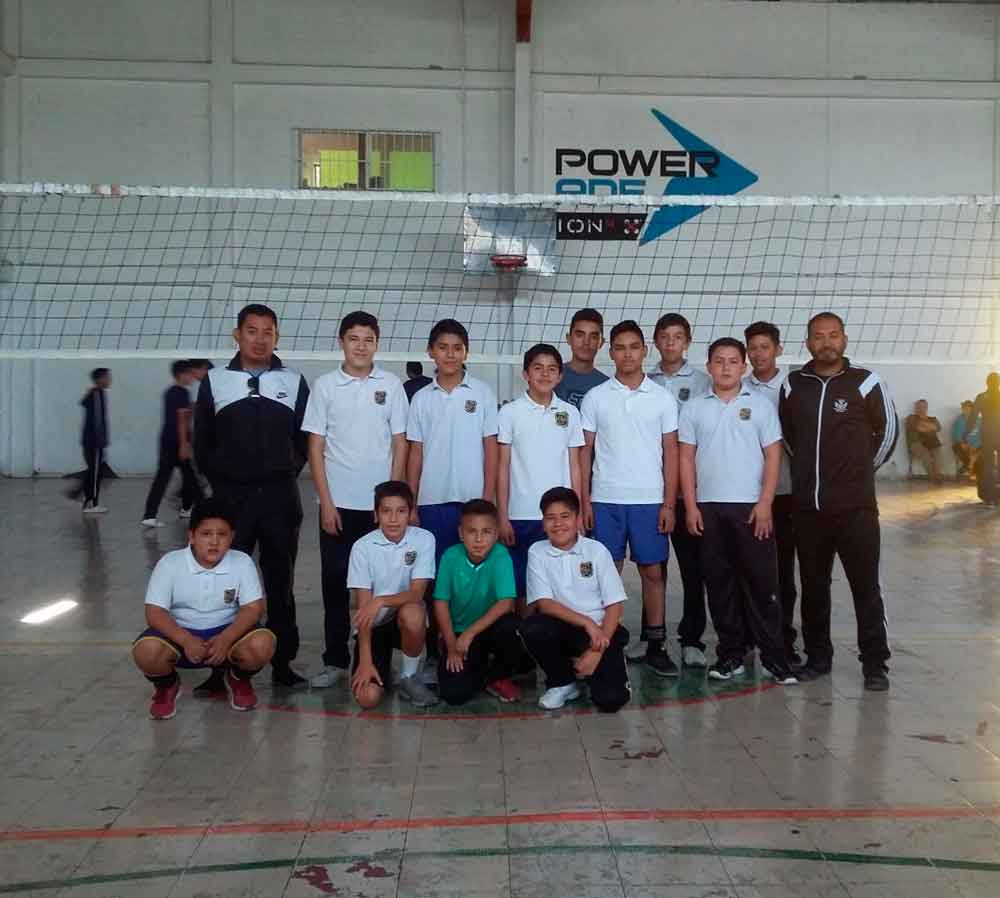 Realiza SEE municipal de Voleibol