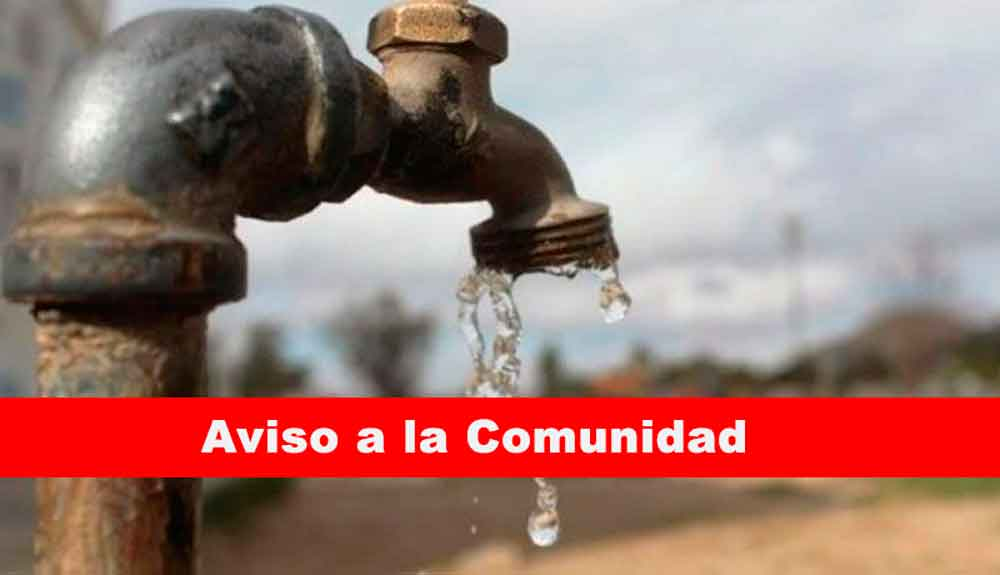 Próximo martes habrá suspensión de agua en 9 colonias de Tijuana