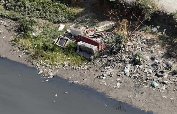 Localizan en canal de aguas negras a niño reportado como desaparecido