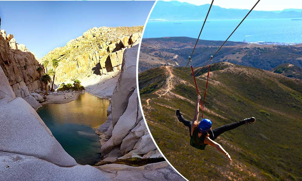 Baja California de los estados favoritos para el turismo del aventura y naturaleza: SECTURE
