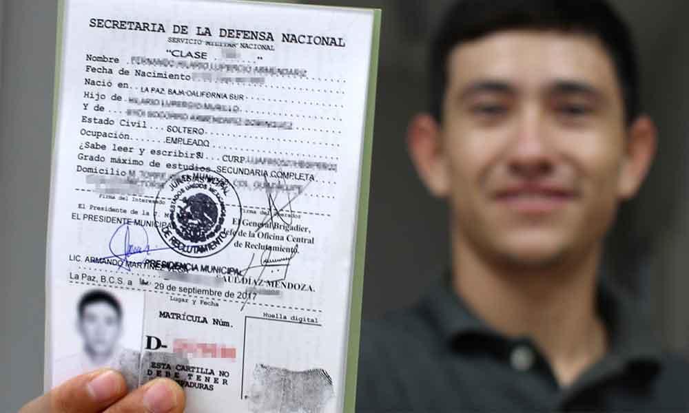 Abren convocatoria a jóvenes nacidos en el año 2000 para que tramiten su cartilla militar en Tecate