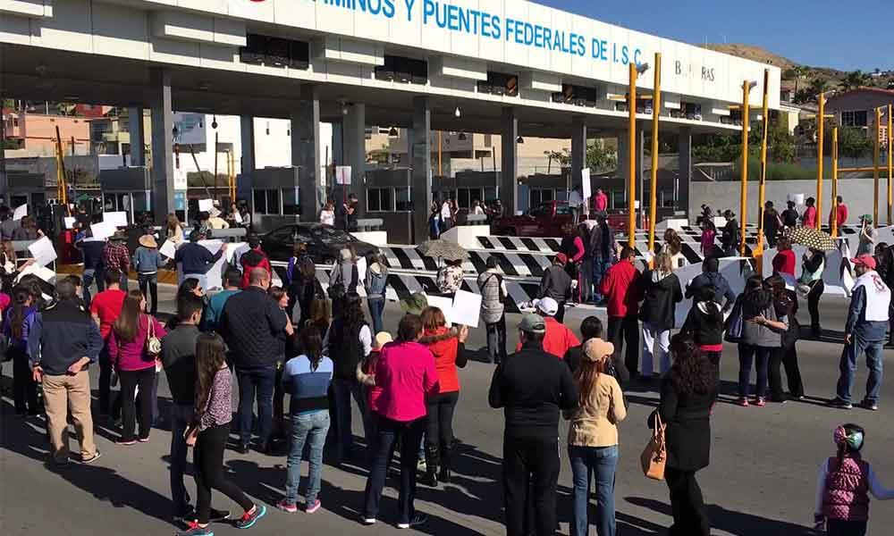 Se manifestarán por aumento de 4 pesos a caseta de cuota de Playas de Tijuana