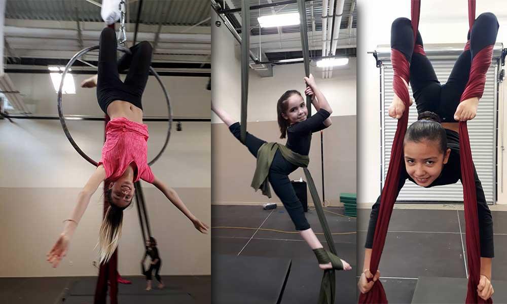 Vuela por los aires en el curso de Danza Aérea en Tecate