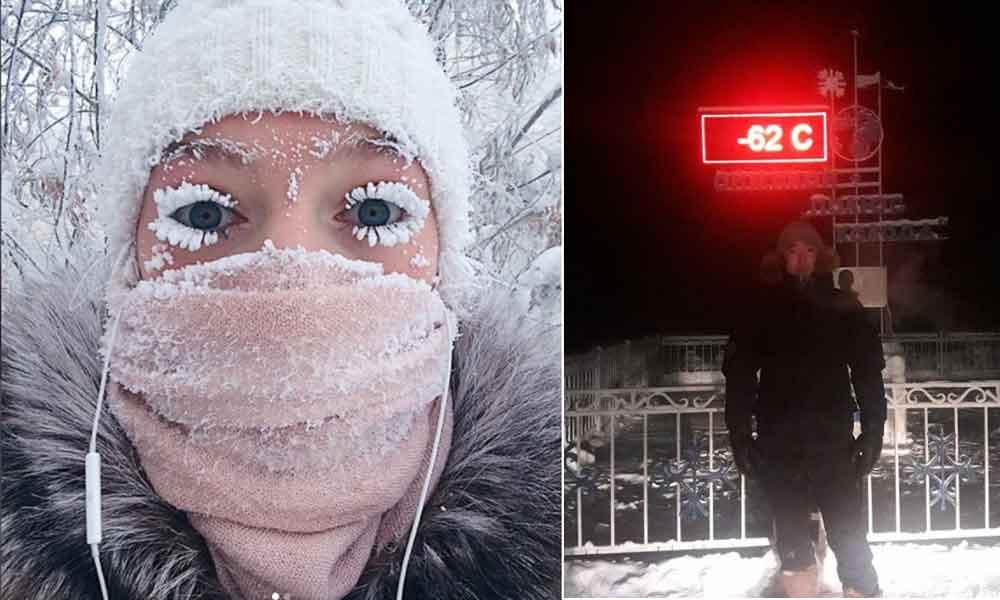El lugar más frío del mundo alcanza los -62 grados bajo cero