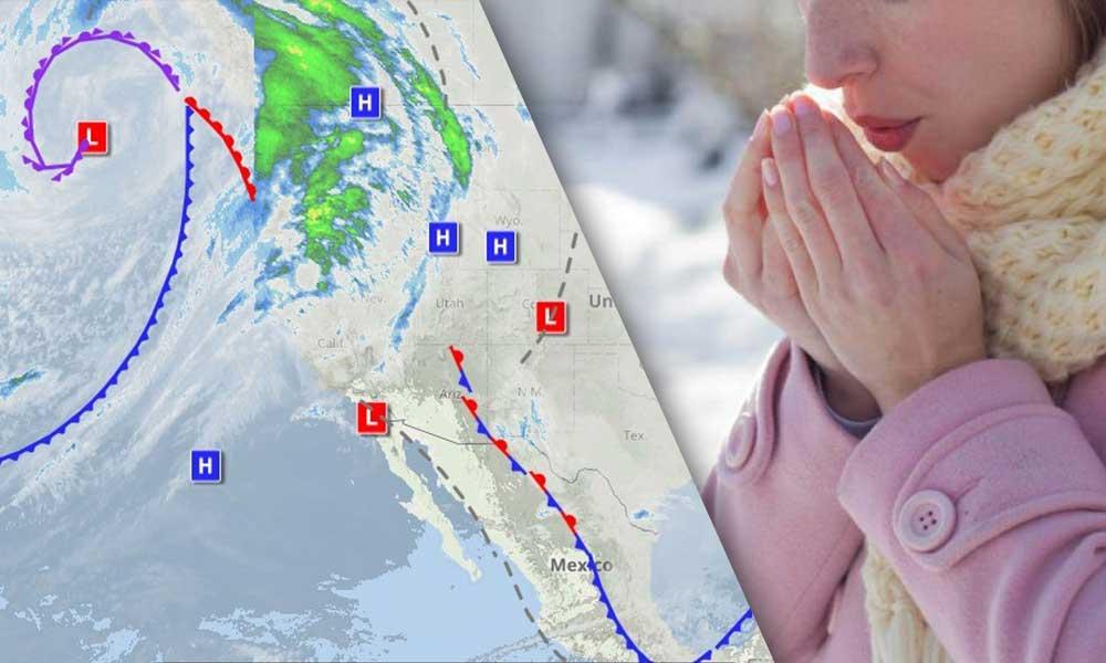 Este sábado será el día más frío de la semana, reitera Protección Civil posibles nevadas en BC