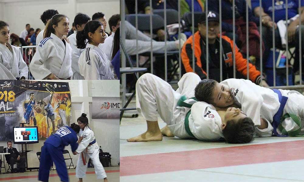 Tecate recibió a competidores en Judo de todo el Estado (Fotos)