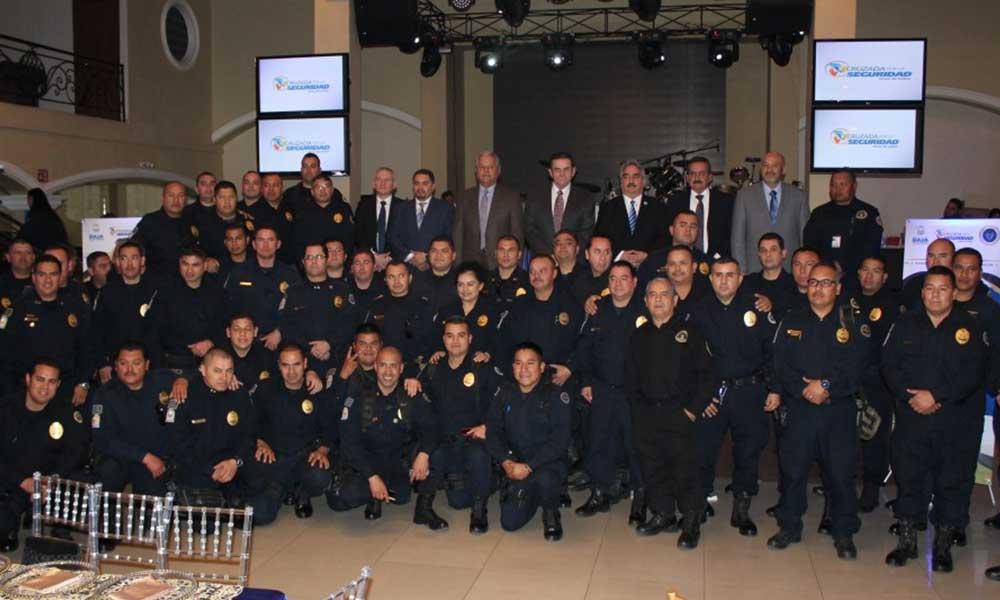 Baja California cuenta con policías efectivos y de primer nivel: Sosa Olachea