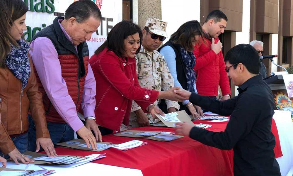 Entregan pre Cartilla militar a jóvenes de clase 2,000 en Tecate