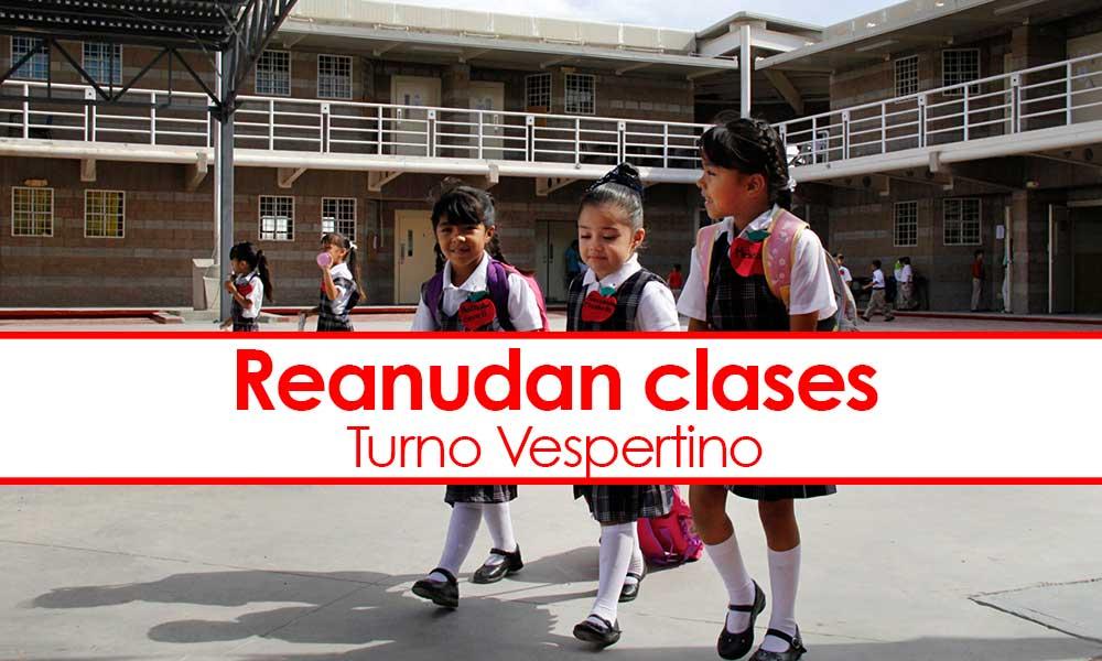 Reanudan clases para turno vespertino en Tijuana, Tecate, Rosarito y Ensenada