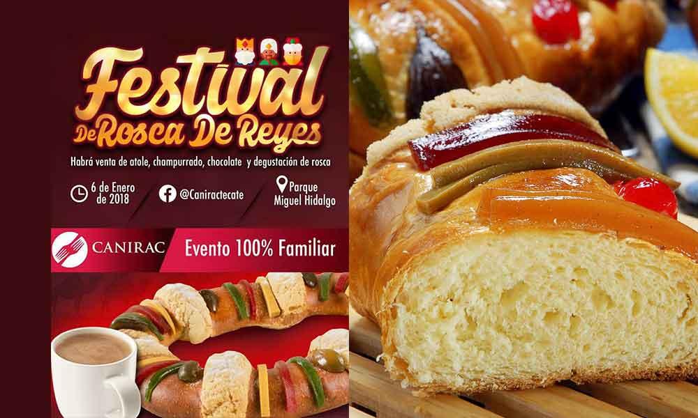 Buscan romper récord de la Rosca de Reyes más grande de Tecate