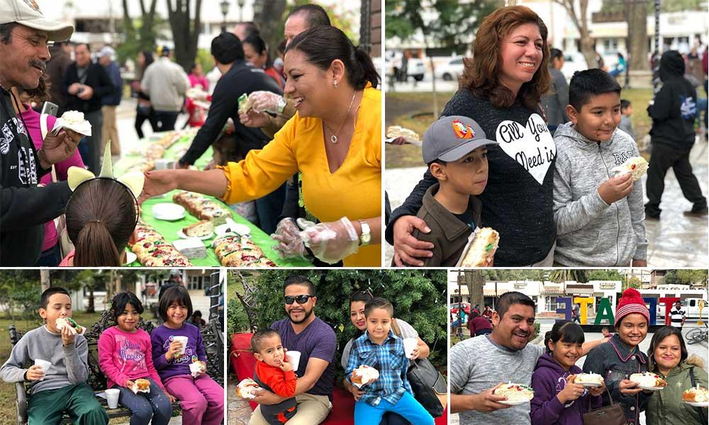 El Pueblo Mágico de Tecate celebra el Día de Reyes con una gran Rosca
