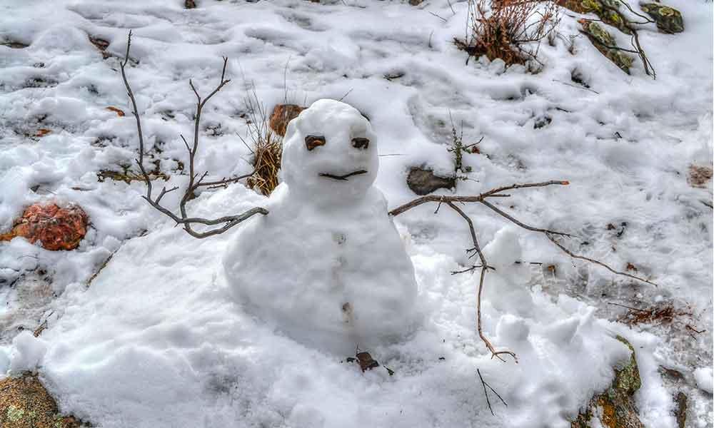 Lluvias el viernes y alta probabilidad de nevada para el sábado en Baja California