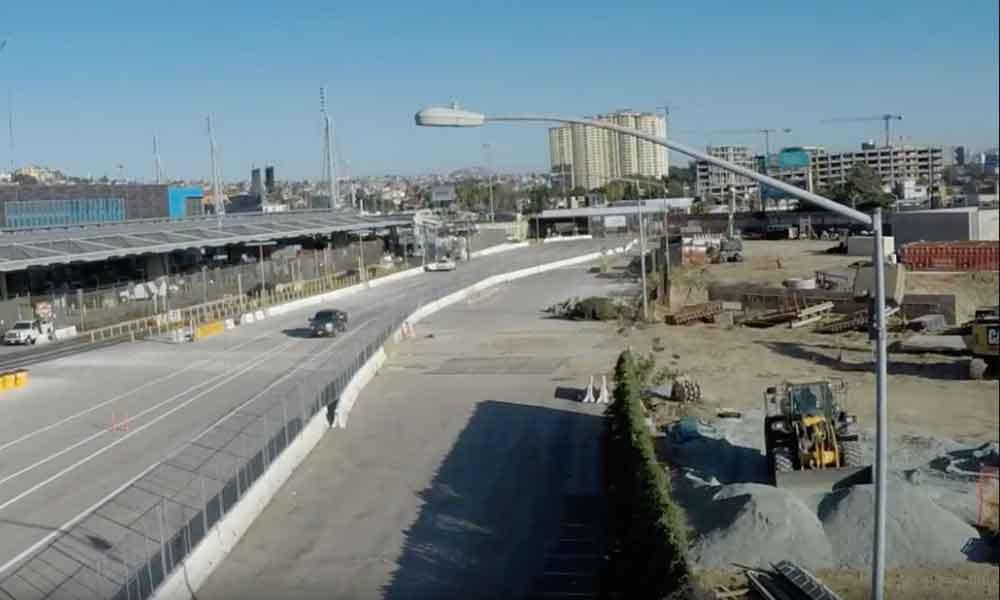 Anuncian cierre temporal de carriles en San Ysidro
