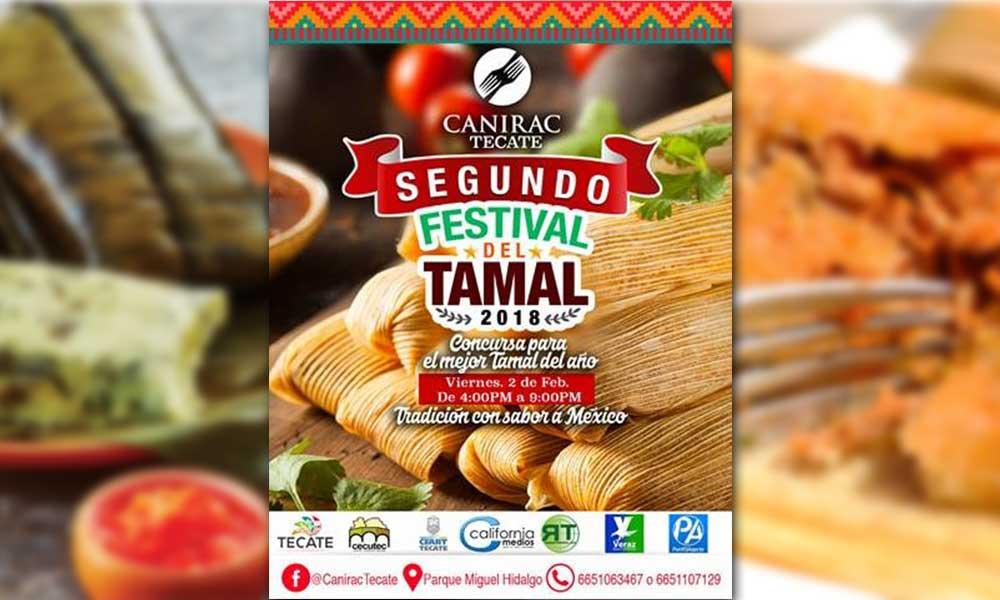 Alistan el Segundo Festival del Tamal en Tecate ¡Habrá premio para el mejor tamal del año!