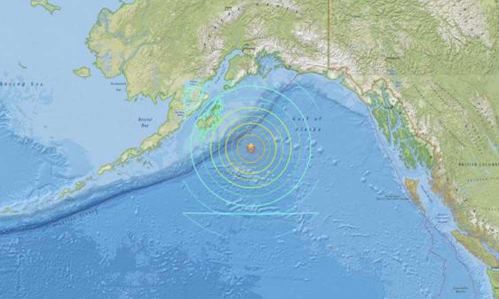 Última hora: Sismo de 7.9 activa alerta de tsunami en Alaska