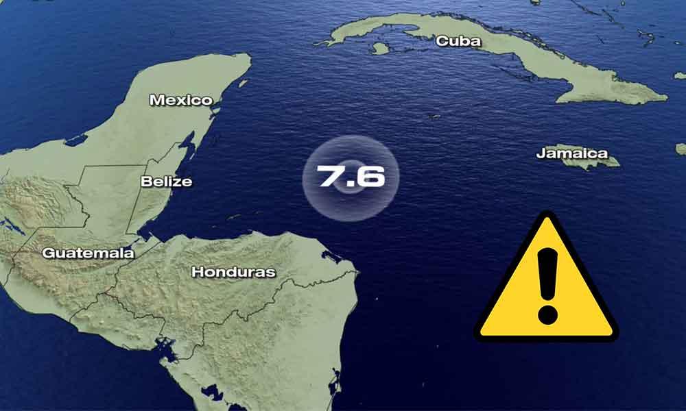 Luego del sismo en Honduras de 7.6, descartan tsunami en México