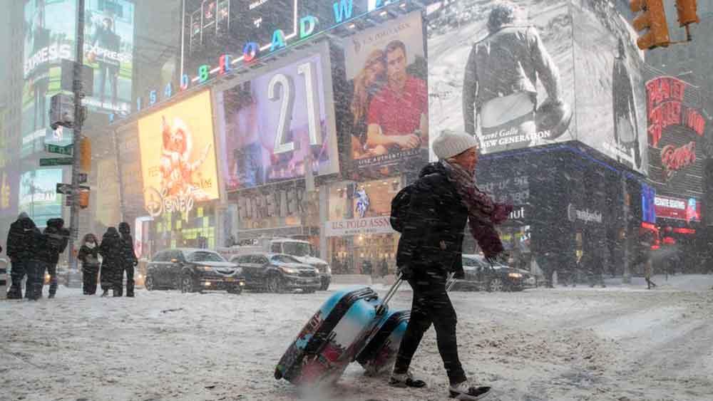 "Emergencia en Nueva York por ""Ciclón Bomba"" invernal"