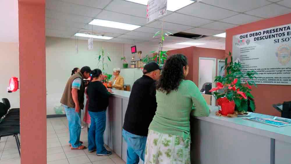 Aprueban descuento de 100% en recargos del Predial en Tecate