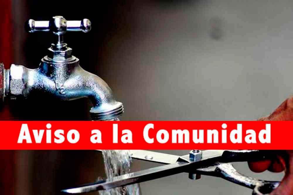 Habrá suspensión de servicio de agua en colonias de Tijuana, Rosarito y Ensenada