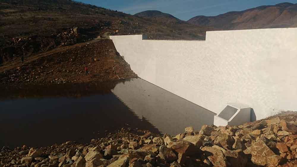 Nueva presa combatirá el desabasto de agua en zona rural de Tecate