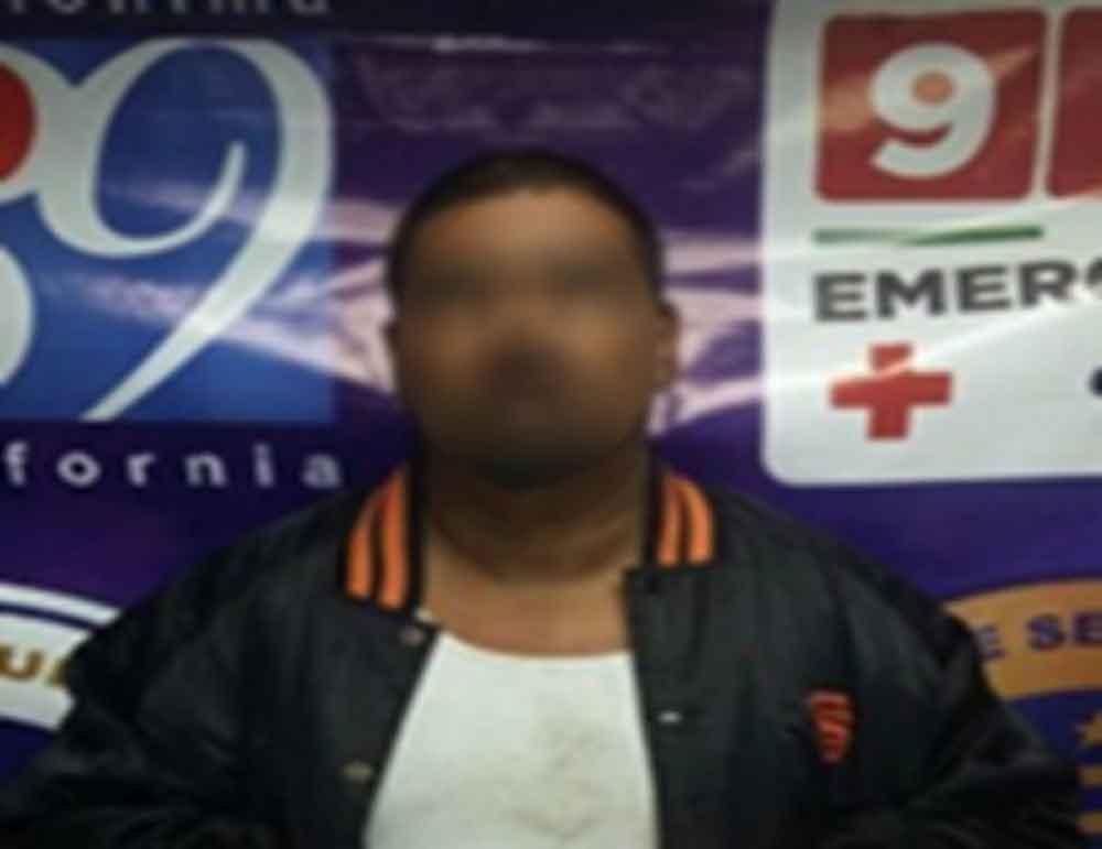 Aseguran en Ensenada a conductor con droga sintética