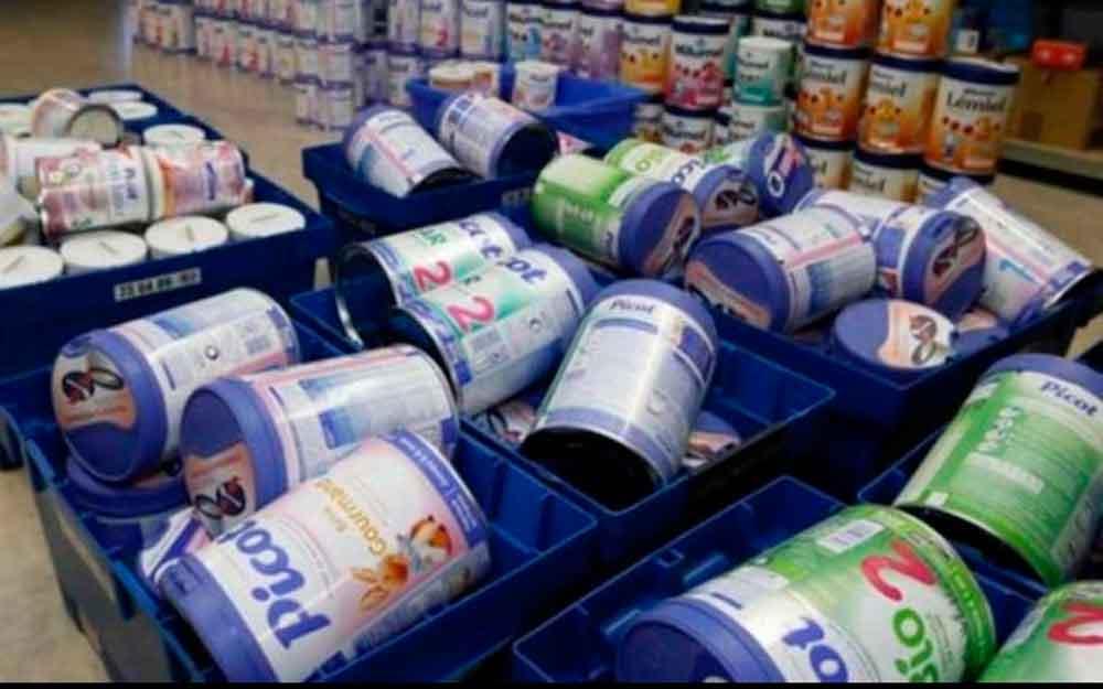 Alertan por leche infantil contaminada en tiendas de México