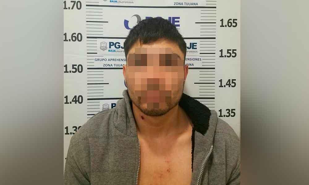Capturan a peligroso asaltante buscado en Tijuana