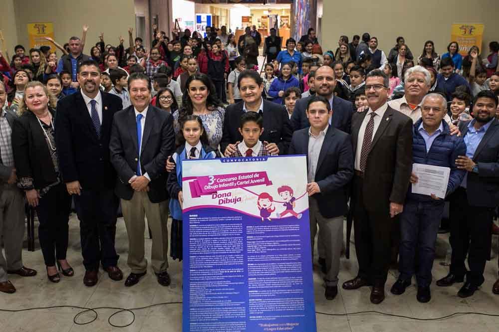 """Convocan a tercer concurso estatal de dibujo infantil y cartel juvenil """"Dona Vida, Dibuja Amor"""""""