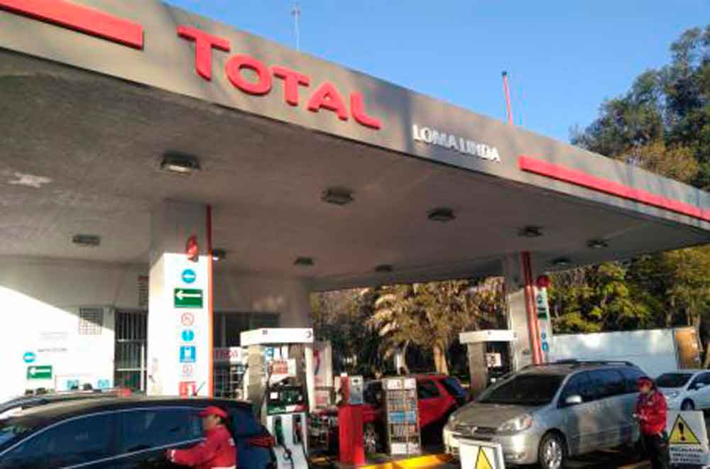 La petrolera francesa Total abre su primer gasolinera en México