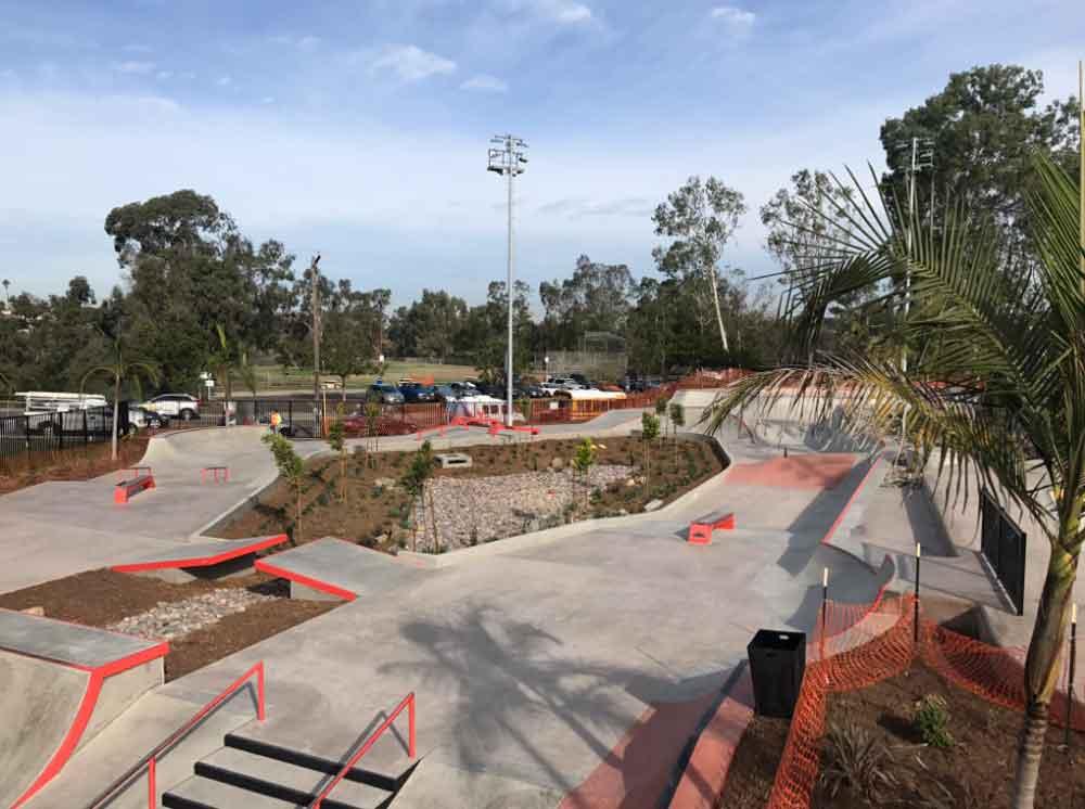 San Diego abre uno de los parques de patineta más grandes de California