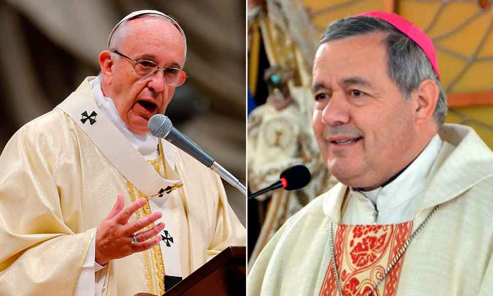 Papa Francisco defiende al obispo Juan Barros, señalado por abusos sexuales
