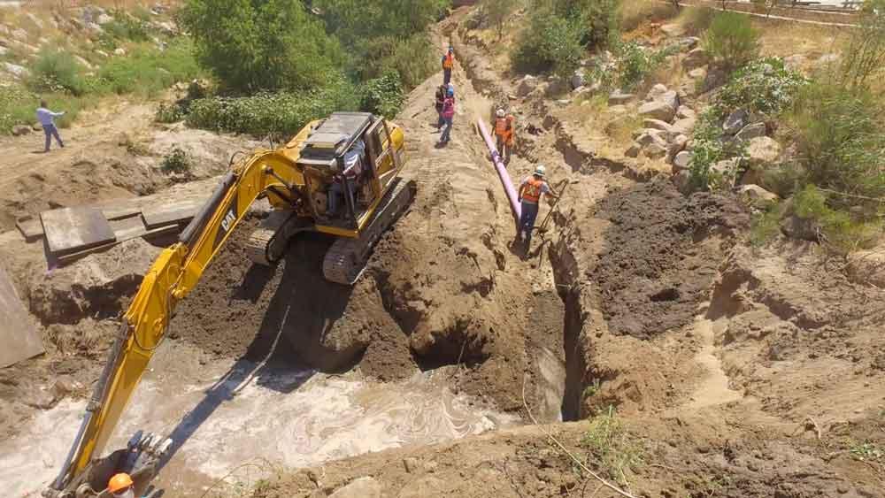 Finaliza CESPTE obra de la Línea Morada en Tecate
