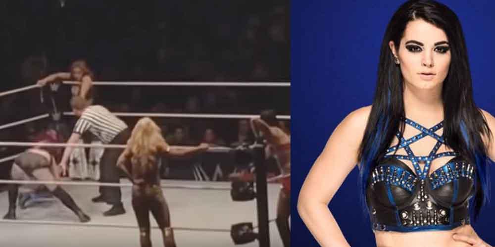 Fulminante patada termina con la carrera de la luchadora Paige