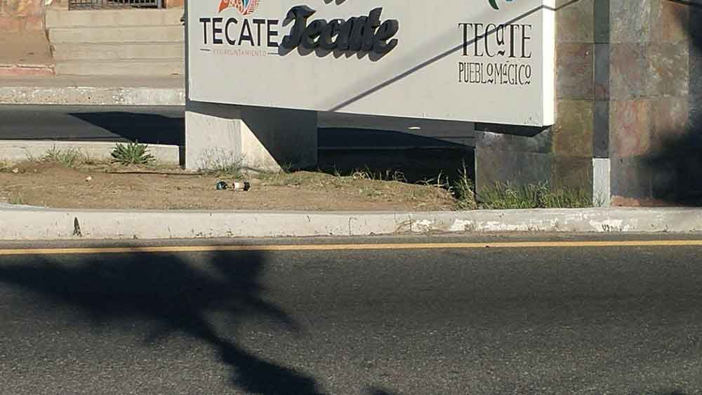 Localizan bomba en Tecate; la desactivan