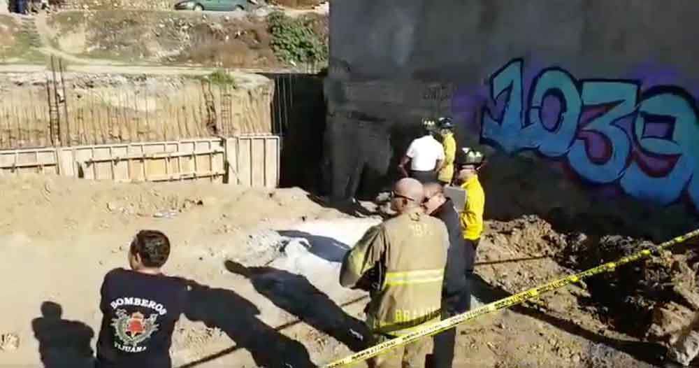 Hombre cae en obra en construcción y muere atravesado por una varilla