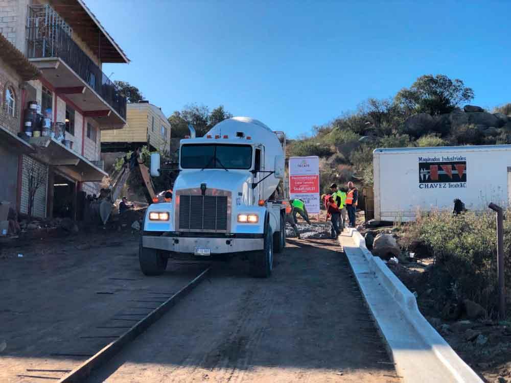 Inicia obra de pavimentación de la calle Segunda en La Rinconada